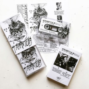 TARANTULA - Eight Songs Cassette Tape